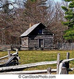 Blue Ridge Parkway Cabin