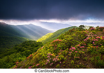 Blue Ridge Parkway North Carolina Appalachian Mountains Scenic Landscape Photography