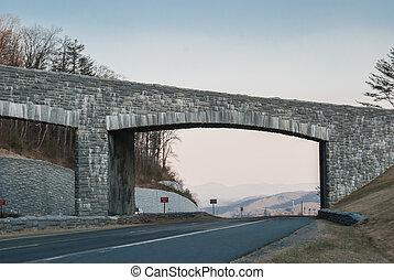 Blue Ridge Parkway Overpass