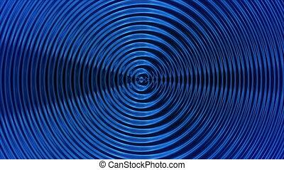 blue rings seamless bg
