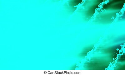 Blue ripple wash out text friendly looping background -...