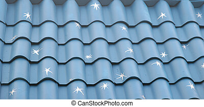 Blue Roof with Starts