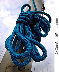 Blue Rope - Blue boat rope