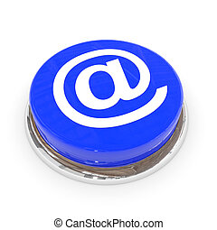Blue round button with E-MAIL sign.