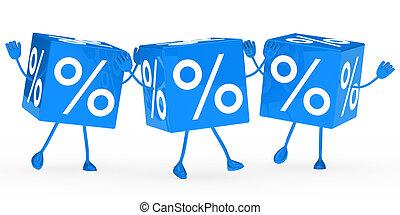 blue sale cubes wave