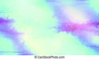 Blue Science Fiction Abstract Looping Animated Background