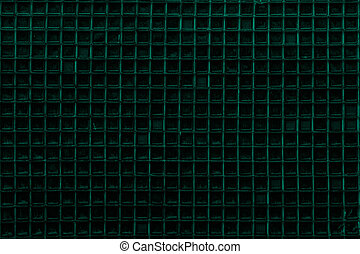 Blue Screen door detail pattern background or texture