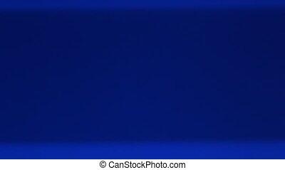 blue screen - shimmering, blue TV screen