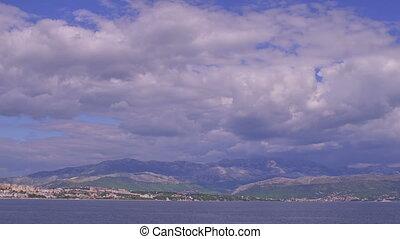 Blue sea and sky - Blue nature of the beautiful Adriatic sea...
