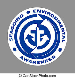 Blue Seagoing Environmental Sign - Blue Seagoing ...
