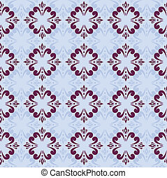 blue seamless abstract pattern