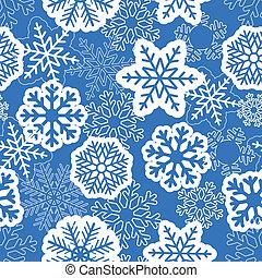Blue seamless christmas background