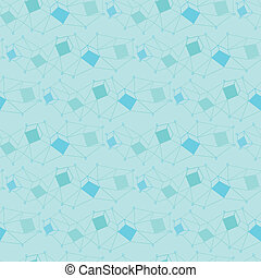 blue seamless geometry