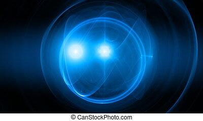 blue seamless looping bg