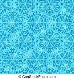 Blue Seamless Pattern Background