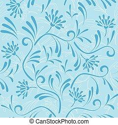 blue seamless vector pattern