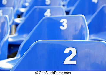 Blue seats