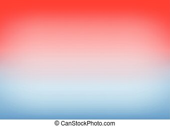 Blue Serenity Red Gradient Background