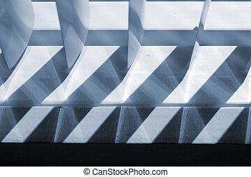 Blue shades abstract