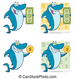 Blue Shark Character Collection - 4