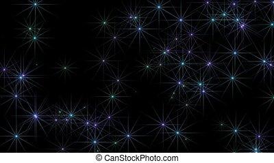 blue shine stars, disco ray light
