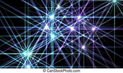 blue shine stars,disco ray light