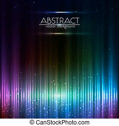 Blue shining equalizer vector abstract background - Blue...
