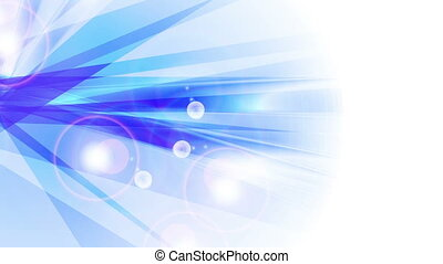 Blue shiny abstract stripes animated background