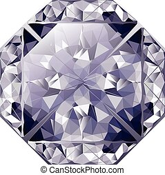 Blue Shiny Diamond