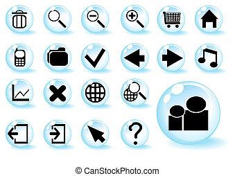 blue-shiny-web-button-icons