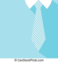 blue shirt and tie background