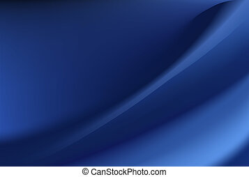 Blue silk background with some soft folds and highlights...