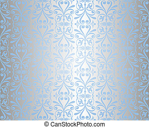 blue & silver background