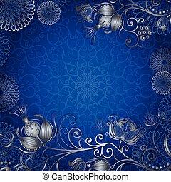 blue-silvery, 葡萄酒, 框架