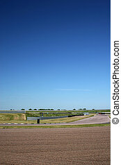 Blue Skies Over Rockingham Motor Speedway - Bright blue sky ...