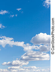 blue sky and white clouds 5