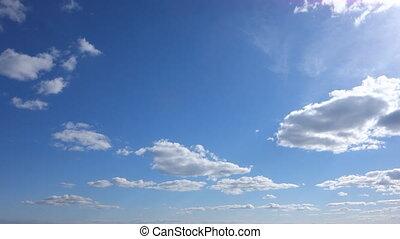 blue sky background blue clouds