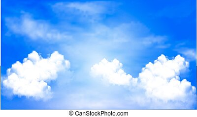 Blue sky background cloudy sky