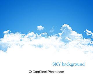blue sky background