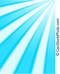 Blue sky rays