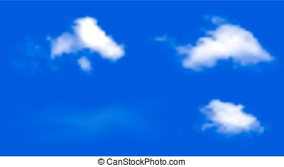 Blue sky vector background