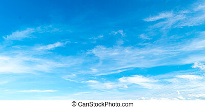 blue sky with cloud. Cloudscape background.