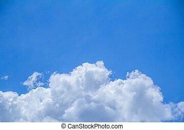 sky - blue sky with cloud