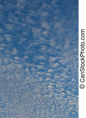 blue sky with cloud texture and background