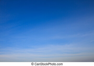 blue sky with white clouds. can be used as background