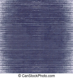 Blue slatted wood background isolated with clipping path