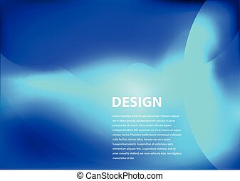 blue smooth background design with