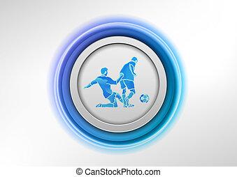 blue soccer