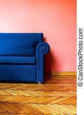 Blue sofa 2