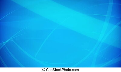 Blue soft abstract background. Loopable.